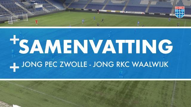 Samenvatting Jong PEC Zwolle - RKC Waalwijk