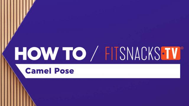 How To Camel Pose