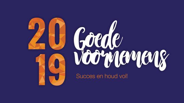 Wat zijn jouw goede voornemens voor 2019?
