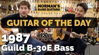 1987 Guild B-30E Bass