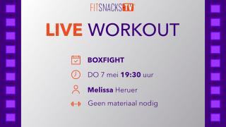 LIVE | BoxFight met Melissa Heruer (7/5/2020)