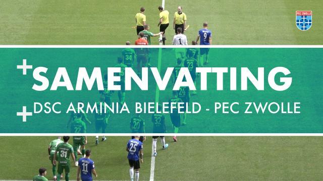 Samenvatting DSC Arminia Bielefeld – PEC Zwolle