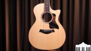 Alamo Music Center | Taylor Guitars Limited Edition 814ce with Blackhearted Sassafras | Full Review and Comparison