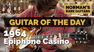 Norman's Rare Guitars  |  Guitar of the Day  |  1964 Epiphone Casino