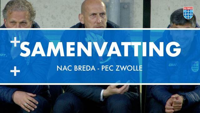Samenvatting NAC Breda - PEC Zwolle