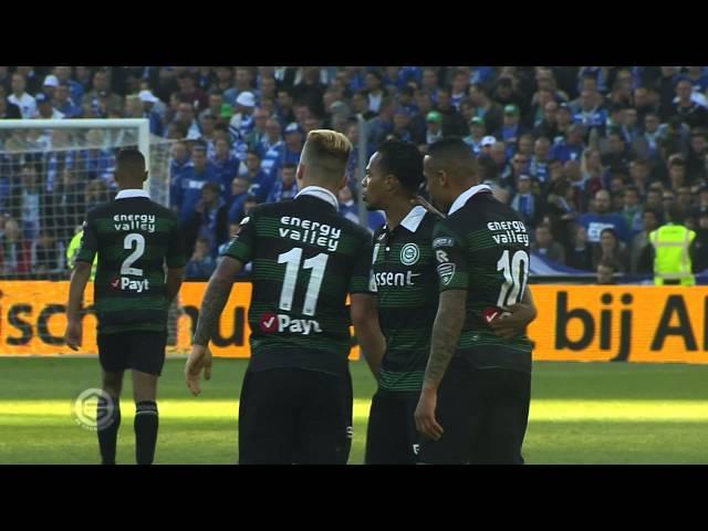 FC Groningen schrijft geschiedenis met bekerwinst (2014/2015)
