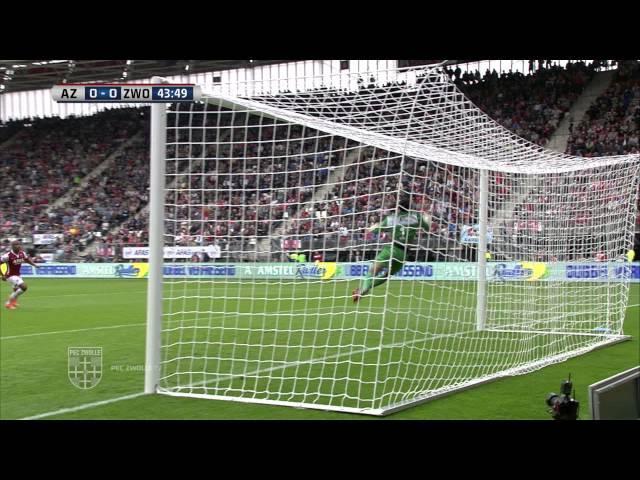 Samenvatting AZ Alkmaar - PEC Zwolle