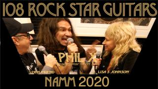 108 Rock Star Guitars: The NAMM 2020 Interviews: Bon Jovi lead guitarist, Phil X