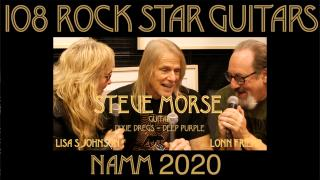 108 ROCK STAR GUITARS AT NAMM 2020: Steve Morse