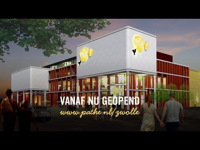 Rondleiding gloednieuwe Pathé Zwolle